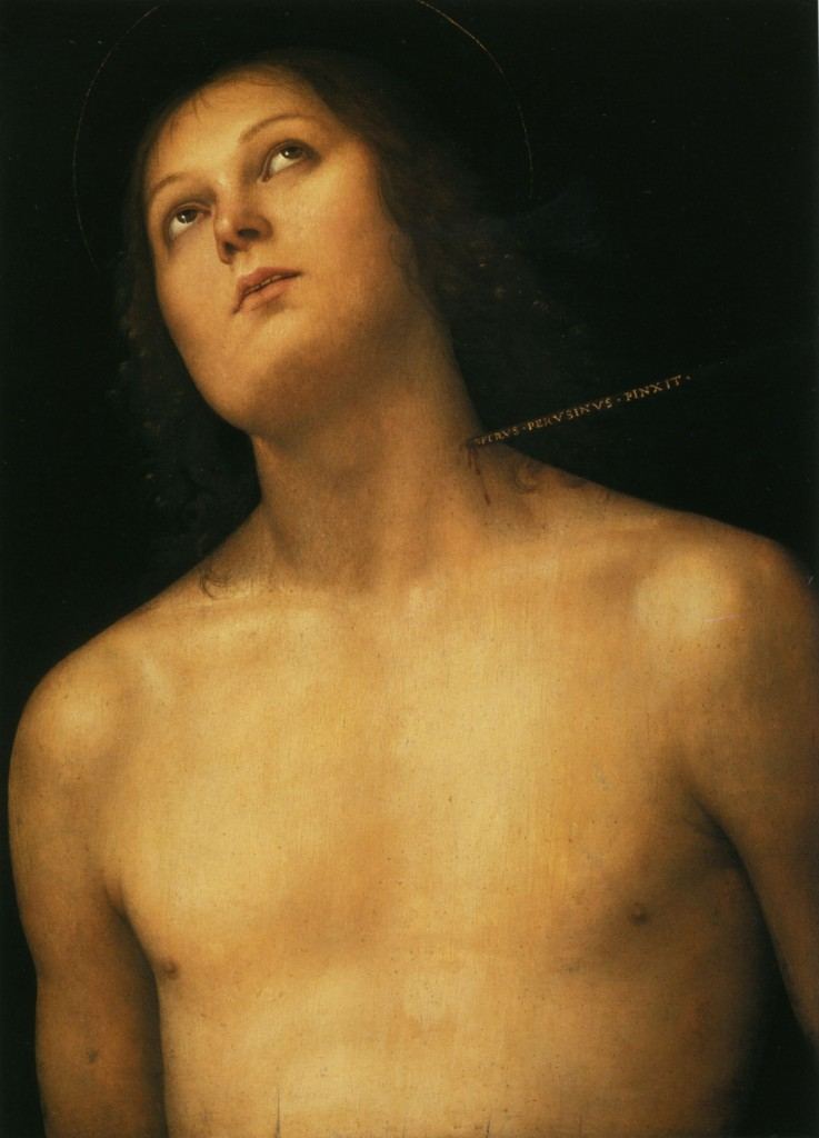 Pietro Perugino, Heiliger Sebastian, ca. 1495