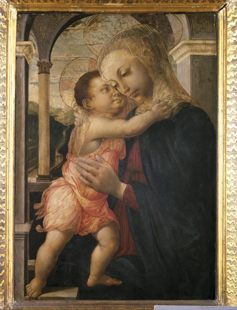Sandro Botticelli, Madonna della Loggia, 1467, Uffizien